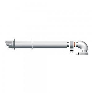 Дымоход коаксиальный Protherm 60/100 1000 мм (Пантера, Гепард)