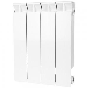 Радиатор биметаллический STOUT STYLE 350-4 секции (RAL 9010)