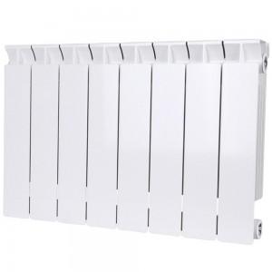 Радиатор биметаллический STOUT STYLE 350-8 секций (RAL 9010)