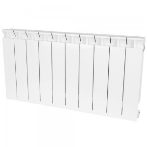 Радиатор биметаллический STOUT STYLE 350-10 секций (RAL 9010)