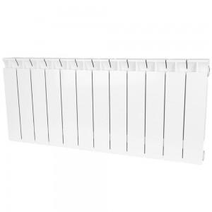 Радиатор биметаллический STOUT STYLE 350-12 секций (RAL 9010)