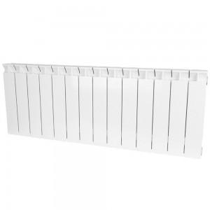 Радиатор биметаллический STOUT STYLE 350-14 секций (RAL 9010)