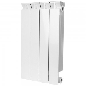 Радиатор биметаллический STOUT STYLE 500-4 секции (RAL 9010)