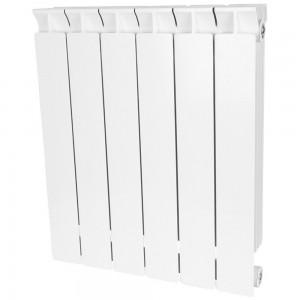 Радиатор биметаллический STOUT STYLE 500-6 секций (RAL 9010)