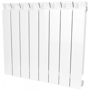 Радиатор биметаллический STOUT STYLE 500-8 секций (RAL 9010)