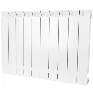 Радиатор биметаллический STOUT STYLE 500-10 секций (RAL 9010)