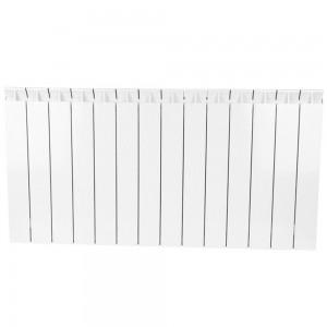 Радиатор биметаллический STOUT STYLE 500-14 секций (RAL 9010)