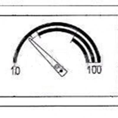 JJJ 8920431 Прямоугольный термометр для котлов Baxi.