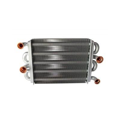 902607550 Теплообменник 180 heat exchanger (plug type) для котлов Ferroli