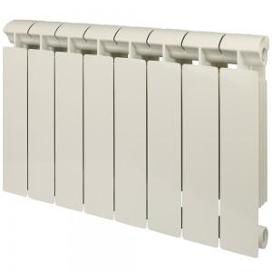 Радиатор биметаллический Global Style Extra 350-8 секций (RAL 9010)