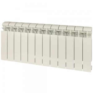 Радиатор биметаллический Global Style Extra 350-12 секций (RAL 9010)