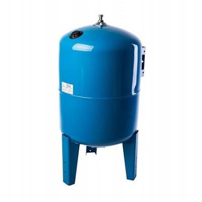 Бак расширительный (гидроаккумулятор) STOUT для водоснабжения 1000л, вертикальный, синий