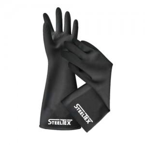 Кислотостойкие защитные перчатки SteelTEX HAND PROTECTION