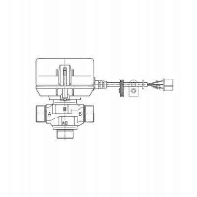 JJJ 3611120 Трехходовой клапан для котлов Baxi