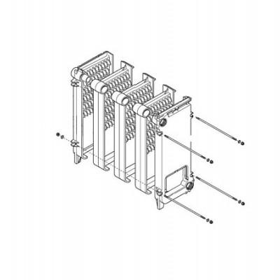 JJJ 3611680 Основной теплообменник для котлов Baxi SLIM