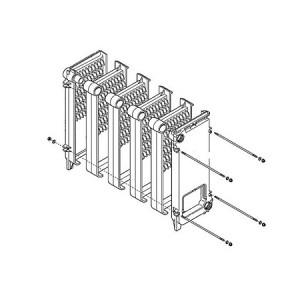 JJJ 3611690 Основной теплообменник для котлов Baxi SLIM 1.400 iN