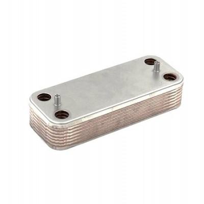 JJJ 5686660 Вторичный пластинчатый теплообменник для котлов Baxi