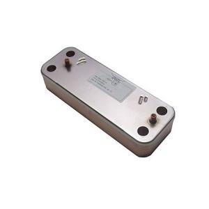 JJJ 5689930 Теплообменник вторичный пластинчатый для котлов Baxi LUNA Duo-Tec