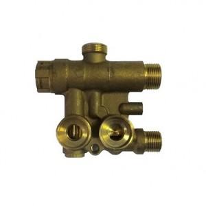 JJJ 5693870 Трехходовой клапан в сборе для котлов Baxi ECO Four 24, ECO-3 Compact 240