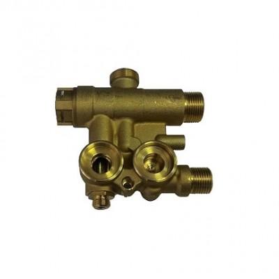 JJJ 5696200 Трехходовой клапан в сборе без байпасного клапана для котлов Baxi