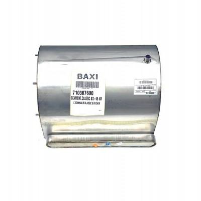 JJJ 710387600 Основной теплообменник сlassic 8/3-65Kw для котлов Baxi LUNA Duo-Tec MP, POWER HT+