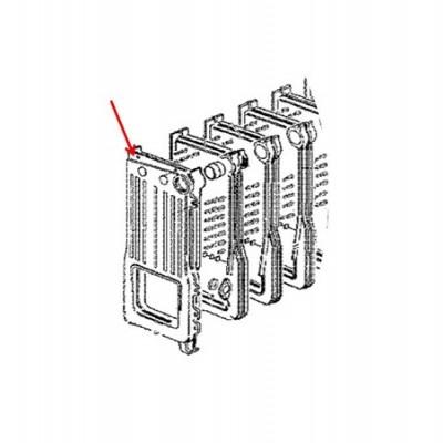 JJJ 711552600 Чугунная левая секция для котлов Baxi SLIM HPS