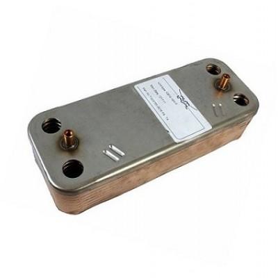 JJJ 711612800 Теплообменник ГВС на 12 пластин для котлов Baxi LUNA-3