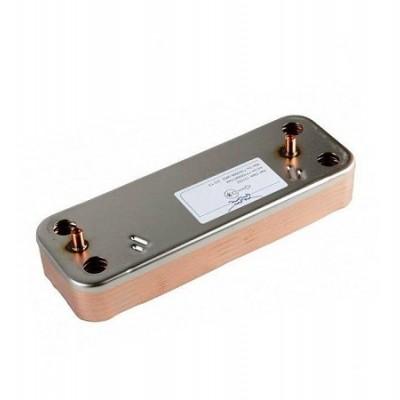 JJJ 711613000 Теплообменник ГВС на 14 пластин для котлов Baxi