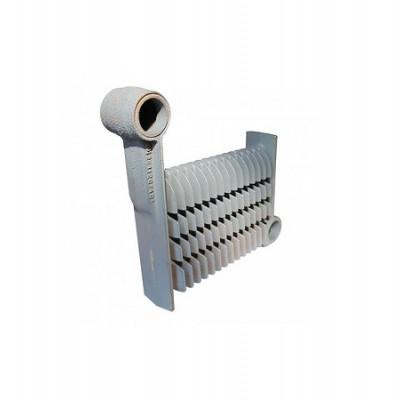 39403690 Секция теплообменника средняя для котлов Ferroli (аналог 33003170)