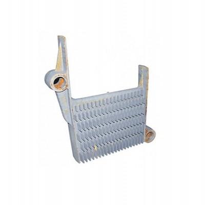 39813640 Секция теплообменника средняя для котлов Ferroli (аналоги 39403780, 33005340)