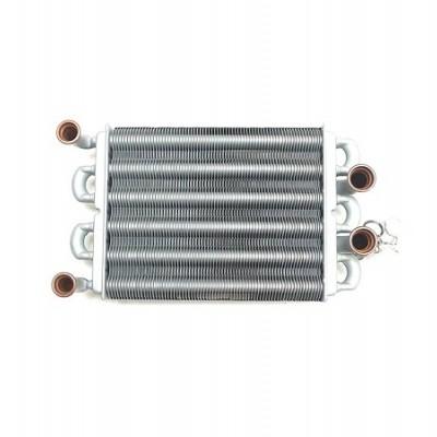 39820060 Теплообменник для котлов Ferroli (аналог 37404301)