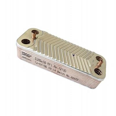39820430 Теплообменник для котлов Ferroli (аналоги 37405131, 37404390)