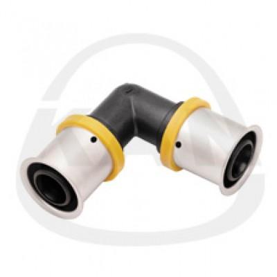 Отвод KAN PPSU Press с пресс-кольцом 20x2/20x2