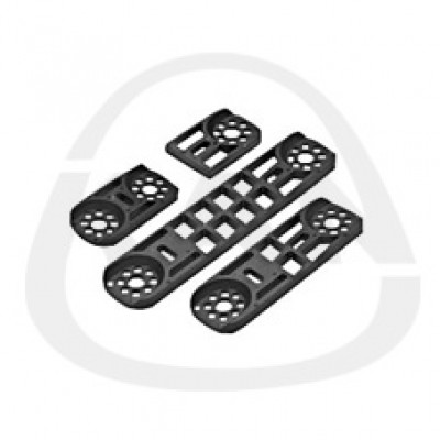 Плитка KAN монтажная-полимерная двойная L=80 мм