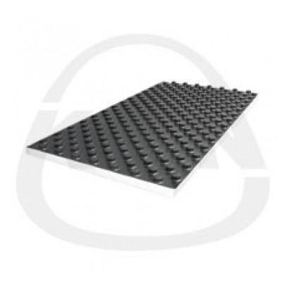 Плита KAN с жесткой пленкой PS Profil1 EPS T-24 dB - эластичная (звукопоглощающая) - лист 1,12 кв.м