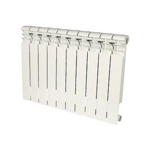 Радиатор алюминиевый Rommer Profi 350-10 секций (RAL9016)