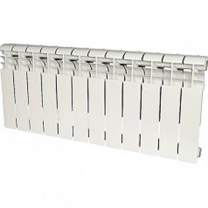 Радиатор алюминиевый Rommer Profi 350-12 секций (RAL9016)