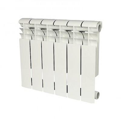 Радиатор алюминиевый Rommer Profi 350-6 секций (RAL9016)