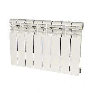 Радиатор алюминиевый Rommer Profi 350-8 секций (RAL9016)