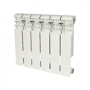 Радиатор алюминиевый Rommer Profi 500-6 секций (RAL9016)