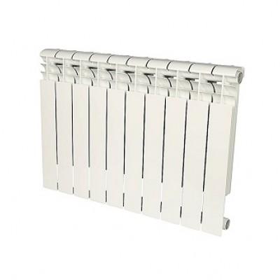 Радиатор биметаллический Rommer Profi BM 350-10 секций (RAL9016)
