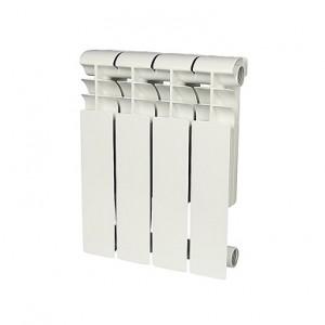 Радиатор биметаллический Rommer Profi BM 350-4 секции (RAL9016)