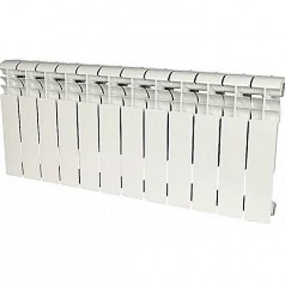 Радиатор биметаллический Rommer Profi BM 500-12 секций (RAL9016)