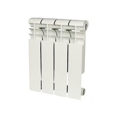 Радиатор биметаллический Rommer Profi BM 500-4 секции (RAL9016)
