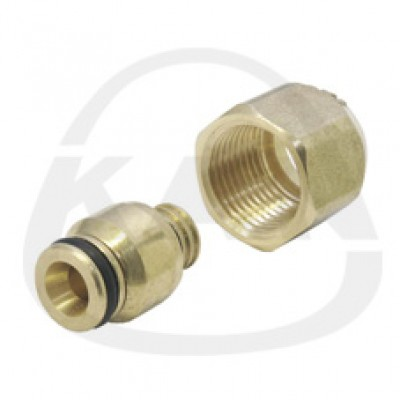 Соединитель KAN для многослойных труб Системы KAN-therm 16 G1/2