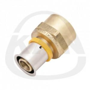 Соединитель KAN Press с пресс-кольцом с внутренней резьбой 20x2 G1/2