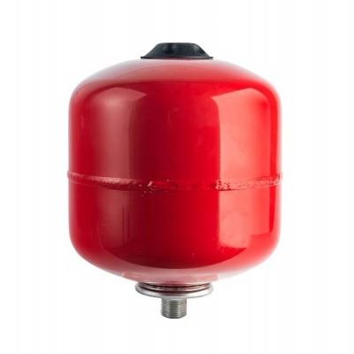 Бак расширительный STOUT на отопление 8л, красный.