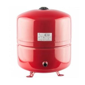 Бак расширительный STOUT на отопление 50л, красный