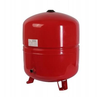 Бак расширительный STOUT на отопление 80л, красный
