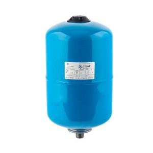 Бак расширительный (гидроаккумулятор) STOUT для водоснабжения 12л, вертикальный, синий